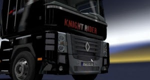 Knight Rider Skin for Renault