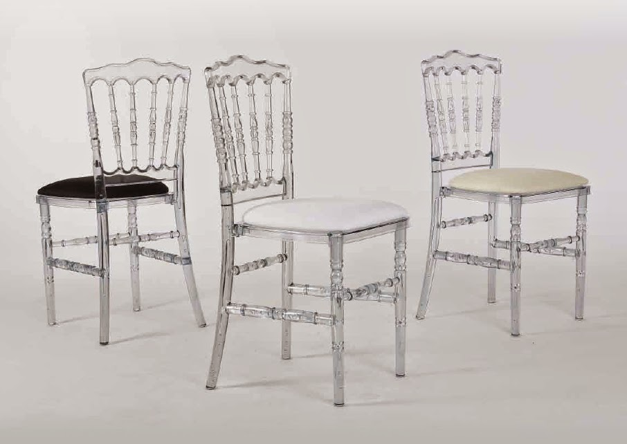 Materiel De Reception PRIMALUXBE Chaise Napoleon Polycarbonate