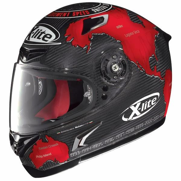 racing helmets garage x lite x 802r ultra carbon 2014. Black Bedroom Furniture Sets. Home Design Ideas