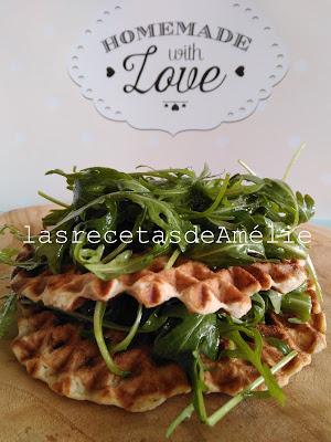 comida sana, fitness, healthy food, vegetariano, saludable, gofre, coliflor