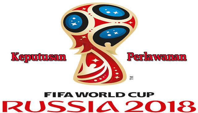 Keputusan Perlawanan Piala Dunia 2018