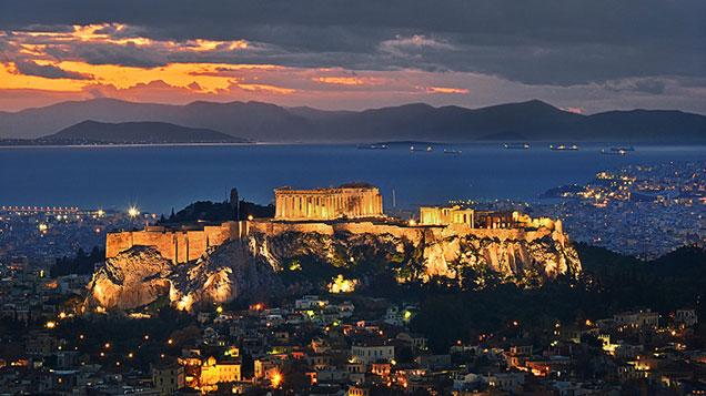 Passeios em Atenas, Grécia