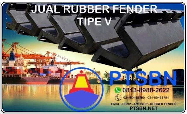 jual rubber fender tipe v, harga rubber fender tipe v, jual rubber fender jakarta
