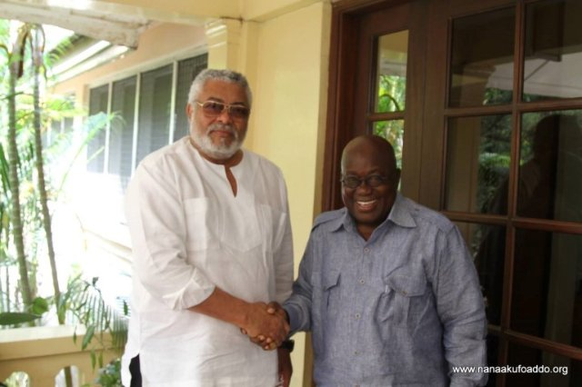 President Akufo-Addo offers Ex-President Rawlings sanitation job [Video]