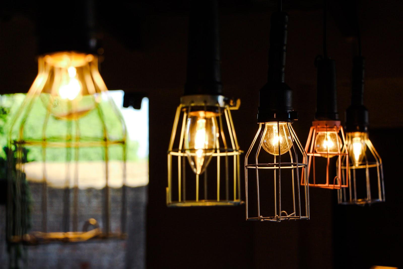 luminaria industrial barata DIY