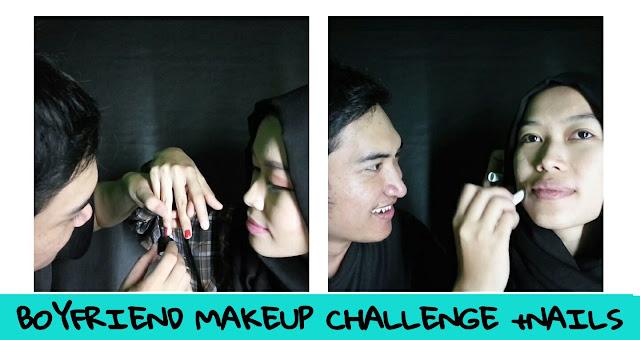 Boyfriend Makeup Challenge - Misskarulina