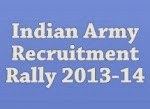 Indian Army Recruitment Rally 2013-14