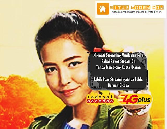 """Inilah 2 Program Unggulan Indosat Ooredoo Streaming Musik dan Film Tanpa Kuota Pakai Aplikasi Spotify dan Iflix """"Paket Stream On"""""""