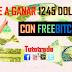 FREEBITCOIN ¿COMO GANAR BITCOIN GRATIS Y DE MANERA FÁCIL Y SENCILLA?