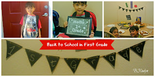 back to school, first grade