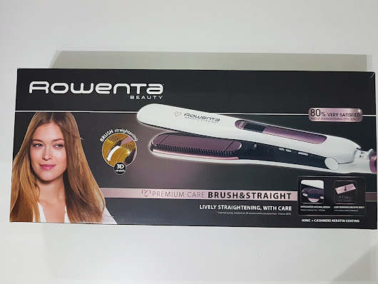 Rowenta Brush & Straight Premium Ccare