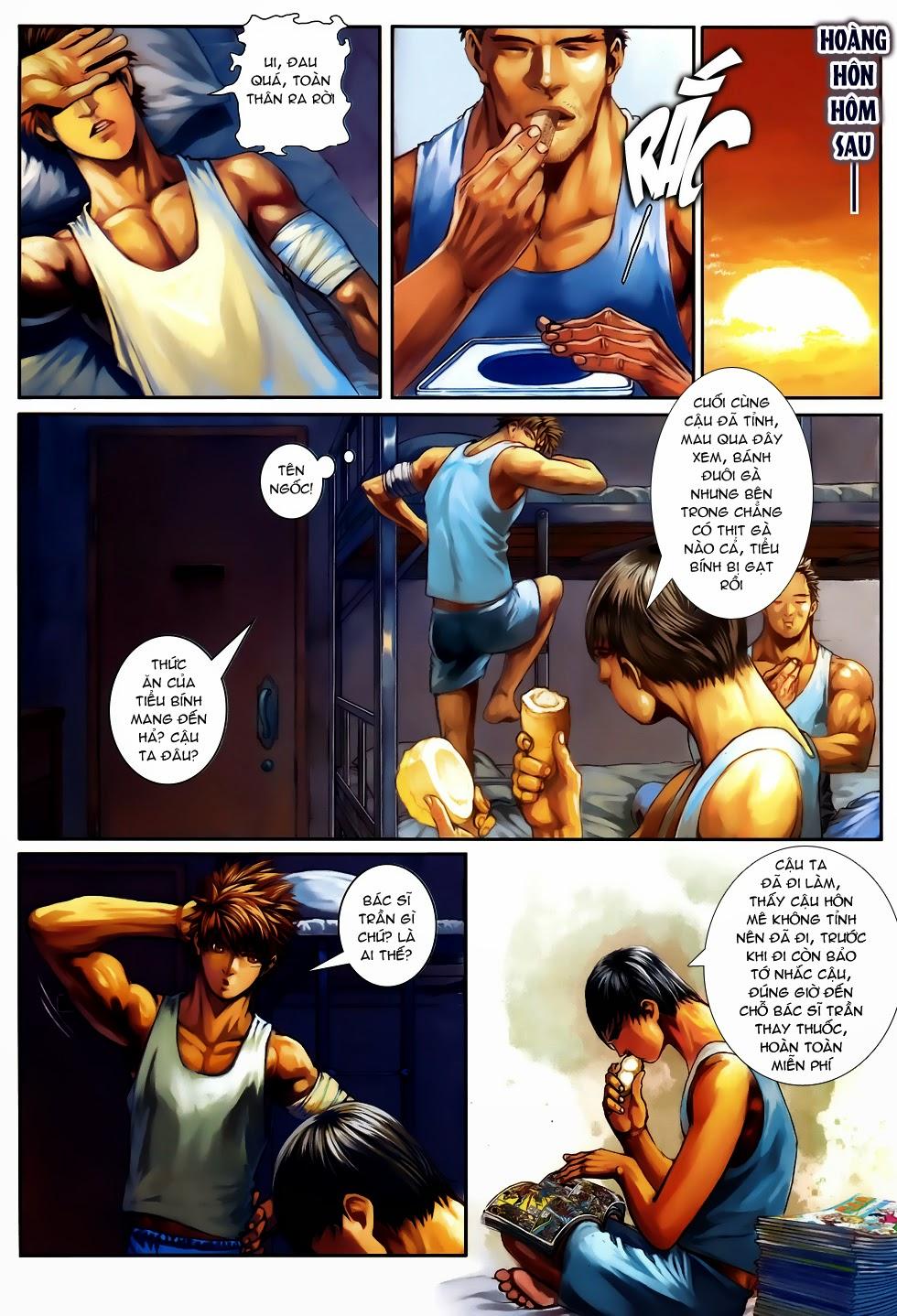 Quyền Đạo chapter 10 trang 18