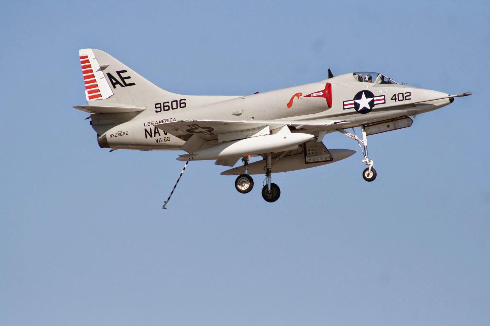 A-4 Skyhawk Captain Dave Dollarhide