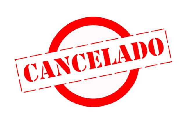 Resultado de imagem para cancelado show e eventos