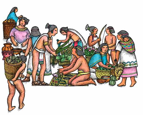 aztec agriculture practices - 600×482