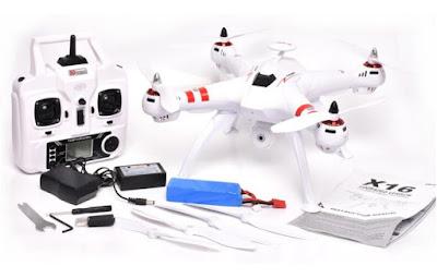 Spesifikasi Drone Bayangtoys X16 - OmahDrones