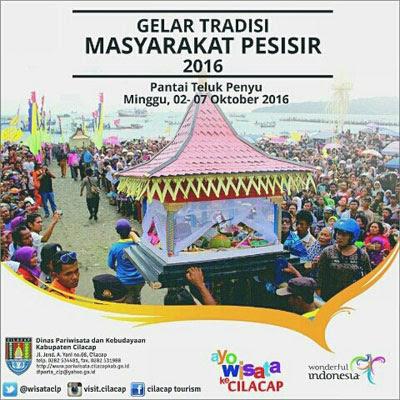 Gelar Tradisi Masyarakat Pesisir 2016 - Cilacap