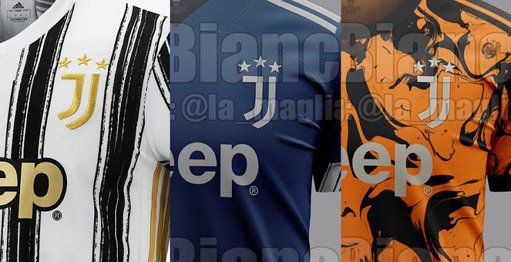UPDATE: Juventus 20-21 Heimtrikot + Farben & Design-Infos von Away ...