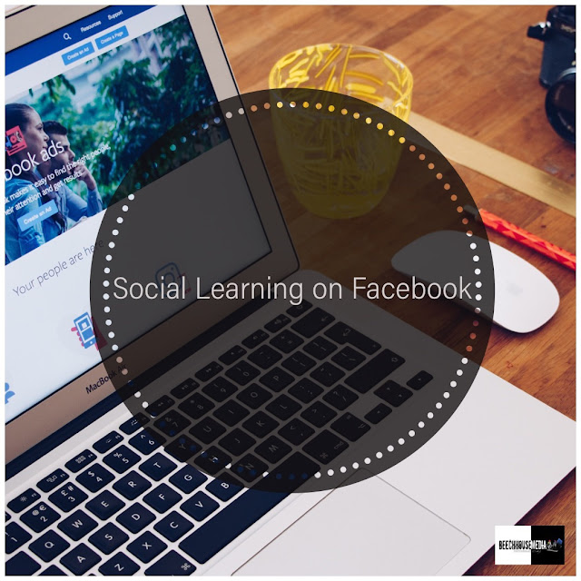 Social learning units on Facebook