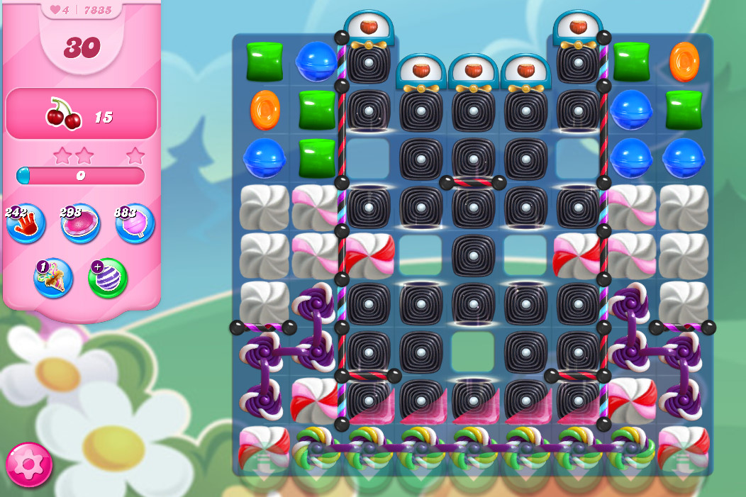 Candy Crush Saga level 7835