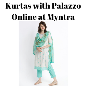 Kurtas with Palazzo Online at Myntra