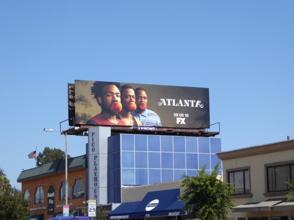 Atlanta FX series billboard