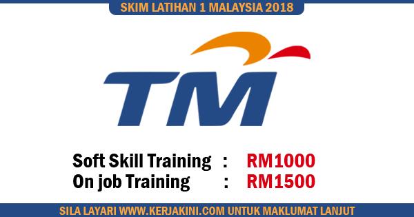 skim latihan 1 malaysia tm 2018