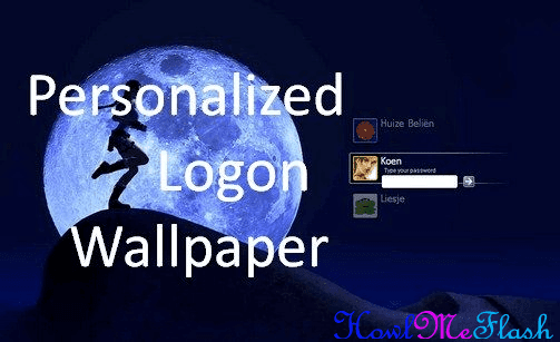 Personalized Logon Wallpaper