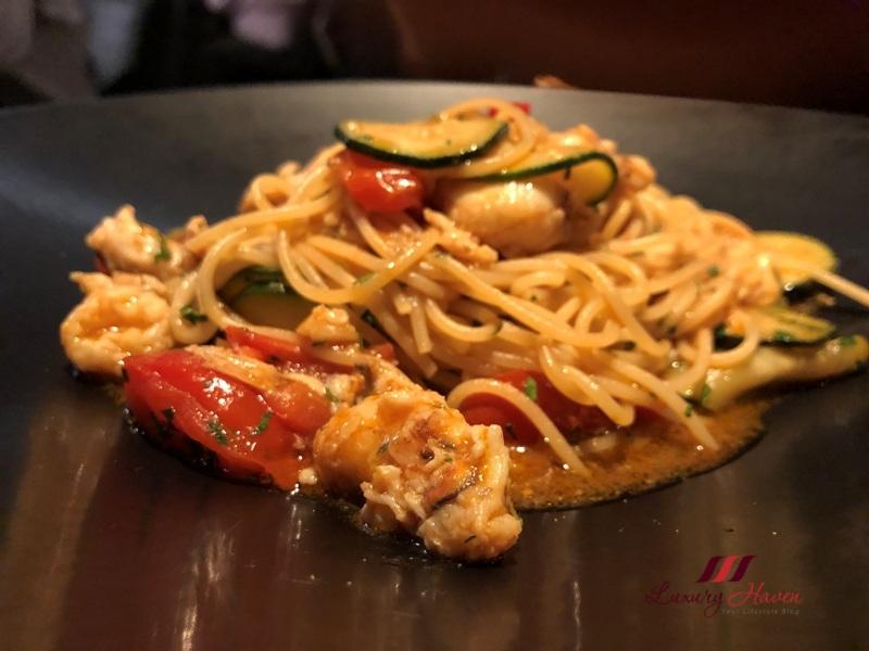 crown melbourne 400 gradi review spaghetti spanner crab