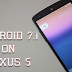 Install Nougat 7.1 on Nexus 5