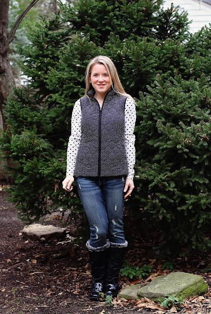 Stitch Fix Market & Spruce Anella Puffer Vest black