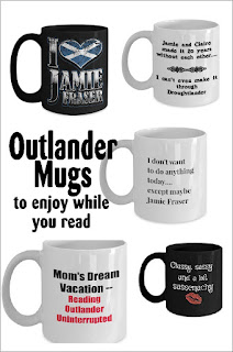 If you love the Outlander series and a Scottish heartthrob named Jamie, you'll love this collection of Outlander mugs.  With a bit of sass, a few romantic sayings, and a lot of highland travel, these mugs will be the perfect way to sit back and relax while you enjoy Outlander.