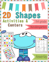 https://www.teacherspayteachers.com/Product/2D-Shapes-Activities-Games-and-Centers-2515161