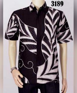 gambar desain baju batik pria remaja