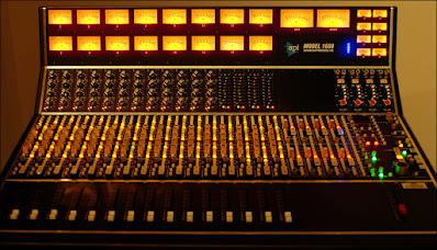 Mixer para estudio de grabación