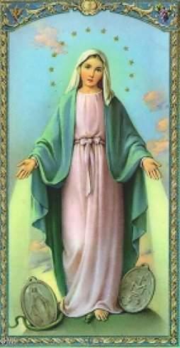 El Verbo Hecho Poesía Virgen De La Medalla Milagrosa