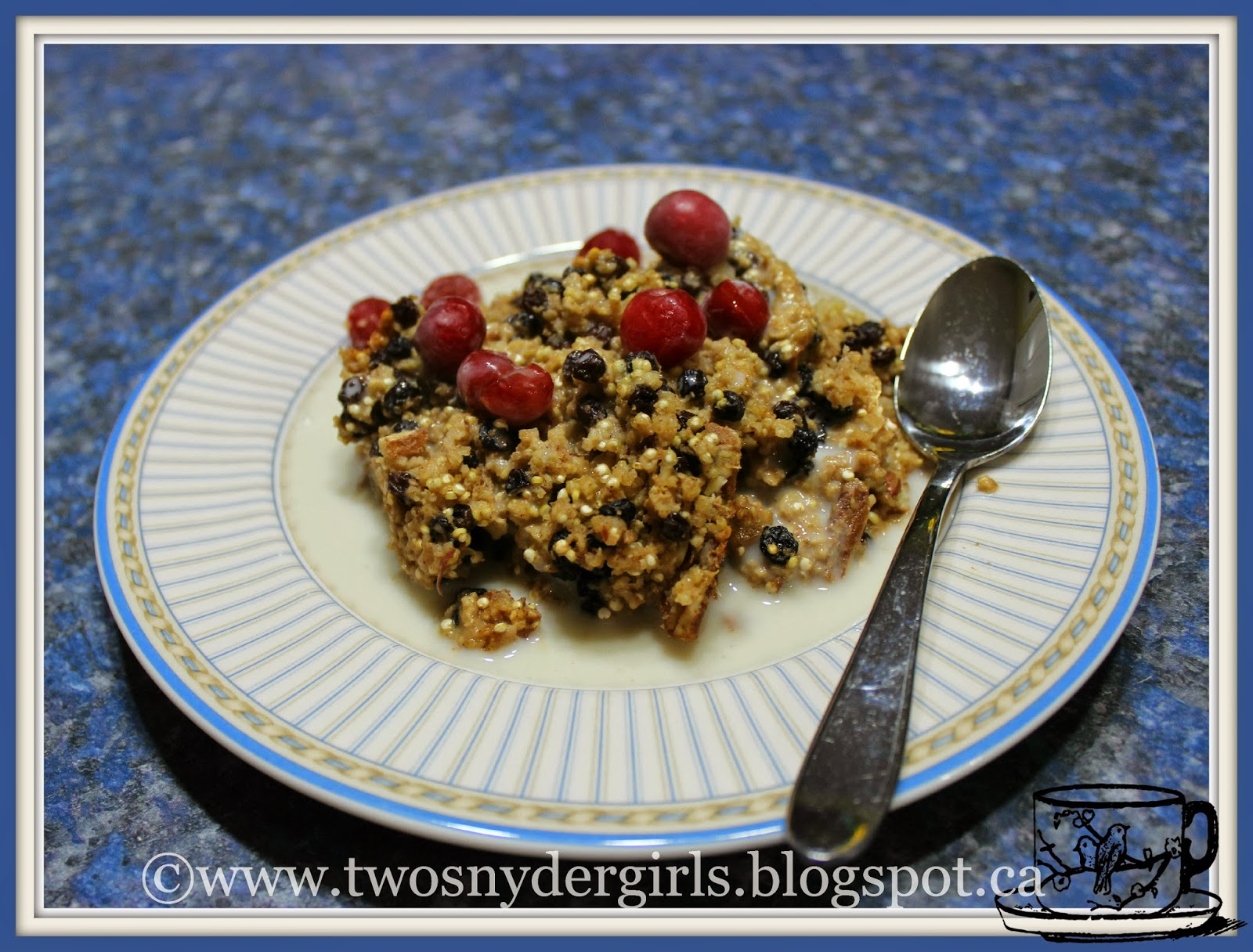 Baked Oatmeal and Quinoa