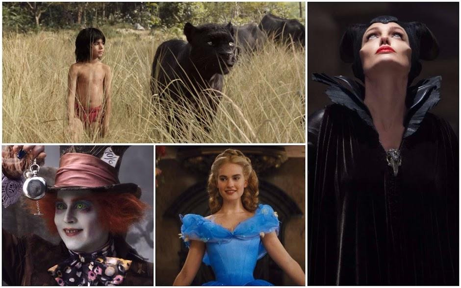 Lista Interativa #3 – Universo Disney: Da Pior a Melhor Adaptação Live-action