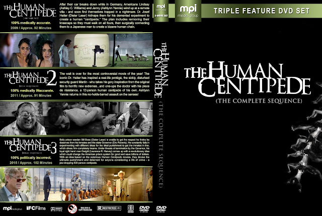 The Human Centipede Collection DVD Cover