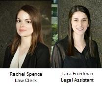 Rachel Spence and Lara Friedman
