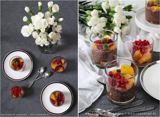 jak robi się pudding z chia, domowe zdrowe słodycze, śniadanie na słodko, śniadanie dla łasucha, daylicooking