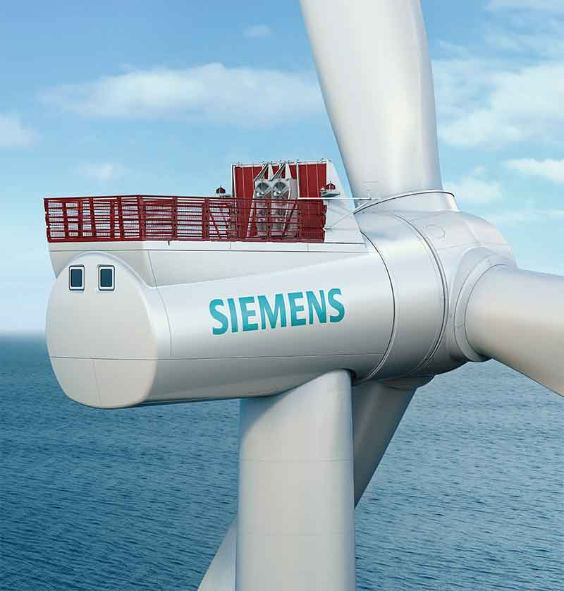 Wind energy in Germany: Siemens to build wind power plant in