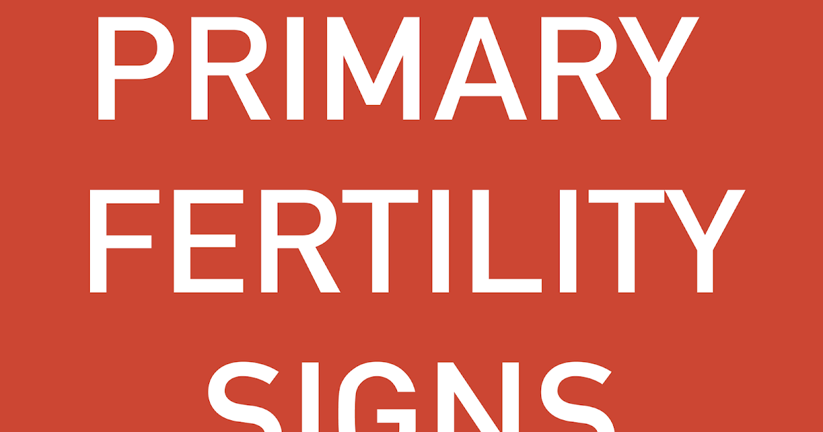 BIG HUG LITTLE KISS: Interpreting Your Fertility Signs