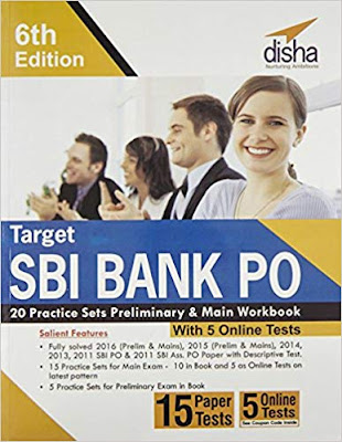 Disha Target SBI Bank PO 20 Practice Sets Book PDF - Download Now