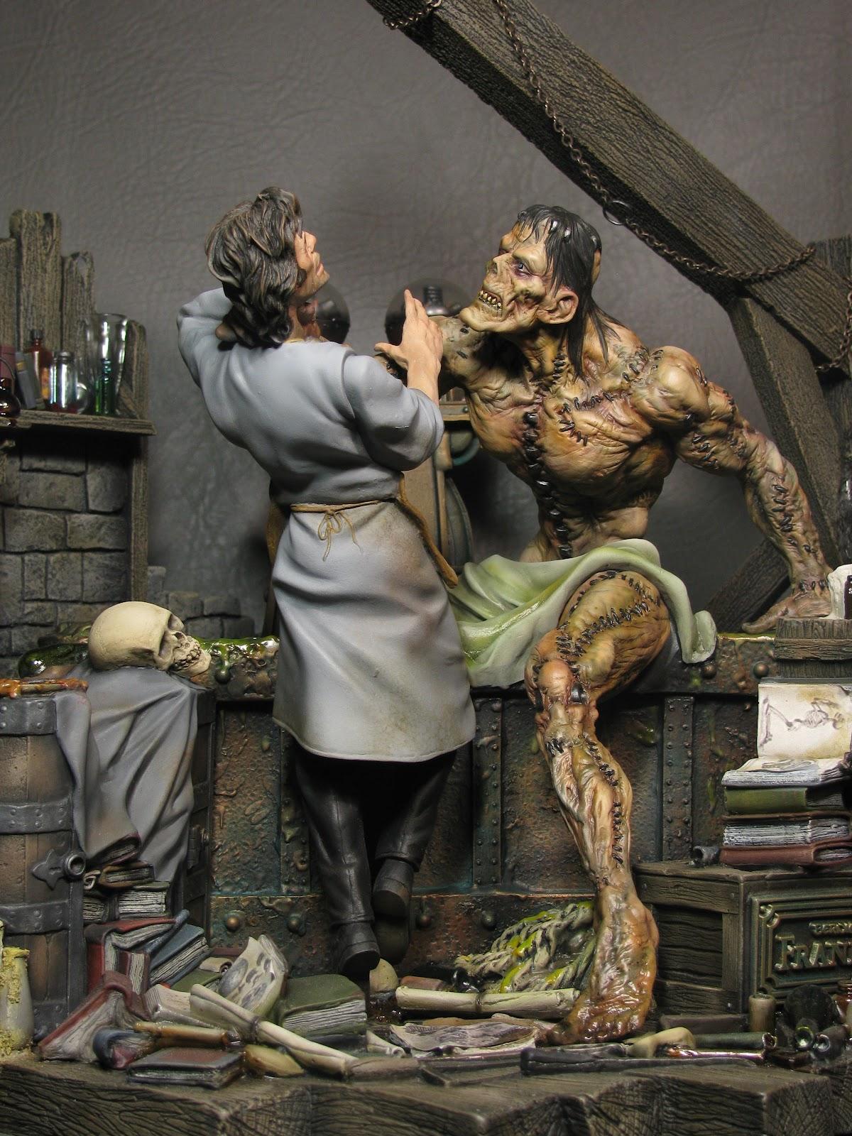 Swriojas Wrightson Frankenstein