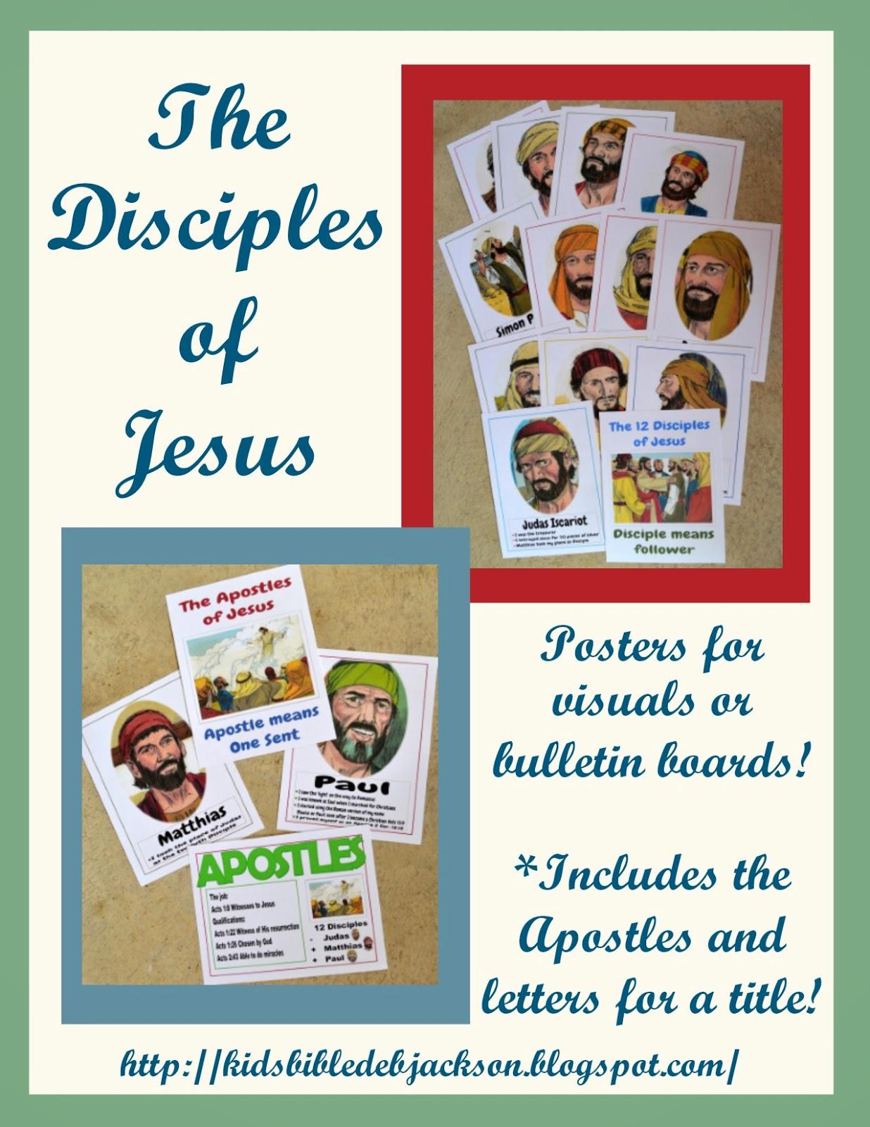 Bible Fun For Kids 4 7 Jesus Amp His Disciples