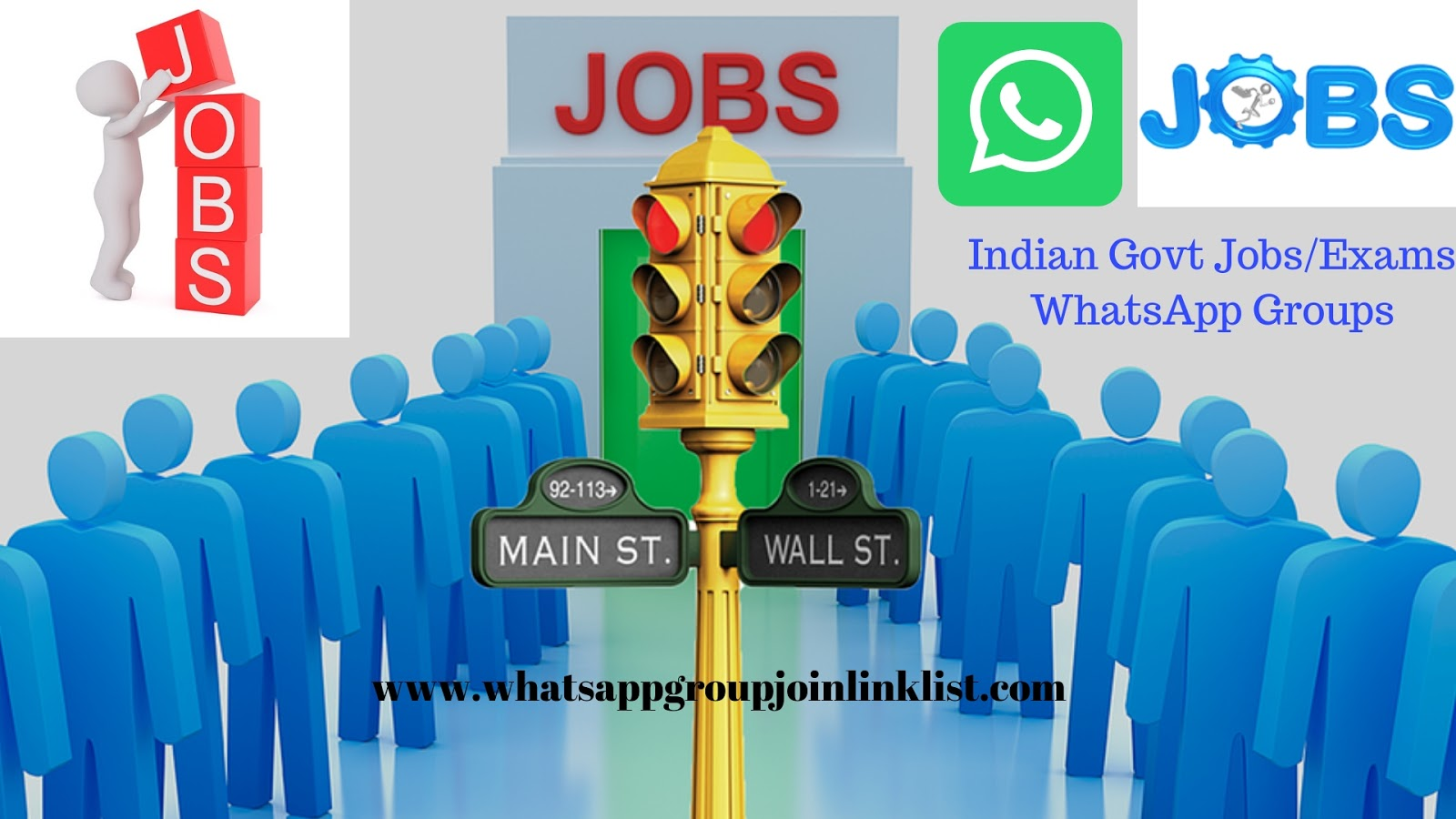 Indian Govt Jobs/Exams & Govt Related WhatsApp Group Join