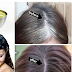 This One Ingredients Can Remove All Your White Hairs And Grow New Hair!