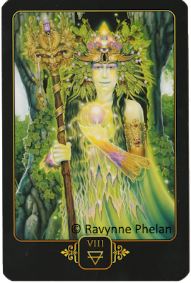 Dreams of Gaia Tarot Eight of Earth