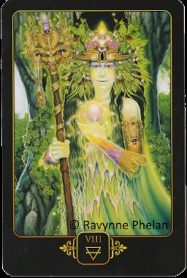 Dreams of Gaia Tarot Eight of Earth